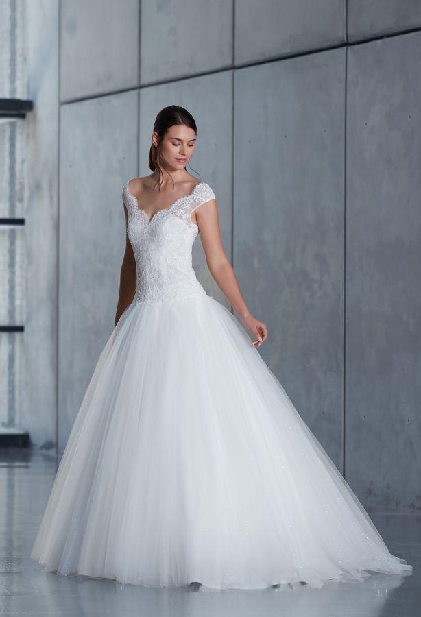 Nos robes de mariées Princesse dentelle -
